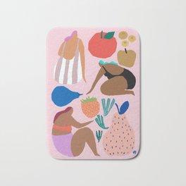 Pink Pear Bath Mat