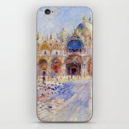 "Auguste Renoir ""The Piazza San Marco, Venice"" iPhone Skin"