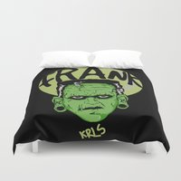 frank Duvet Covers featuring Frank by Thekrls