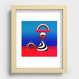 modern still life Recessed Framed Print