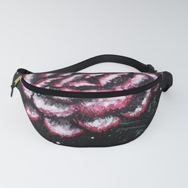 Pink Carnation Painting Fanny Pack