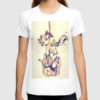 hug T-shirts featuring HUG by AMULET