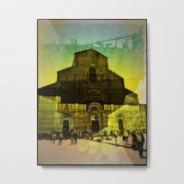 Pop Bologna Piazza Maggiore Metal Print