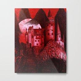 Dracula´s Castle Metal Print