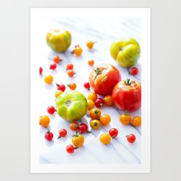 Tennessee Tomatoes Art Print