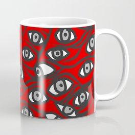 Freddie Eyeballs Red Coffee Mug