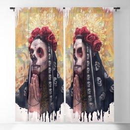 """Katrina"" - Skull girl Blackout Curtain"