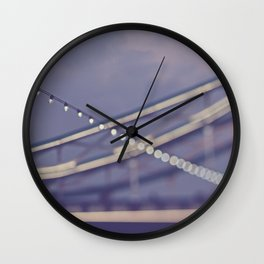 TOWER BRIDGE ABSTRACT Wall Clock
