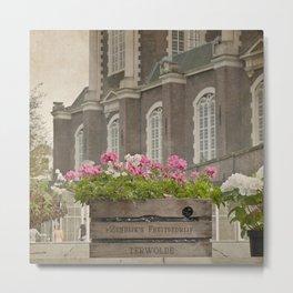 Flower religion Metal Print