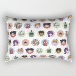 Planet Express Crew Rectangular Pillow