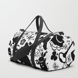 Alice in Wonderland Duffle Bag