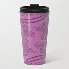 Bodacious Fractal Metal Travel Mug
