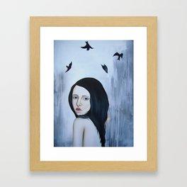 Fall or Fly Framed Art Print