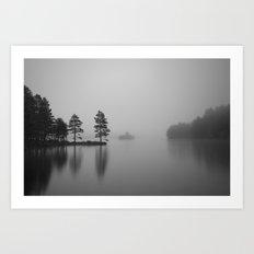 Loch Eilein Morning Art Print