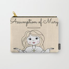 Assumption of Mary - Mary on Heaven - Our Lady of the Navigators Carry-All Pouch