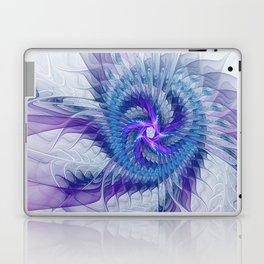 Swirl, Abstract Fractal Art Laptop & iPad Skin