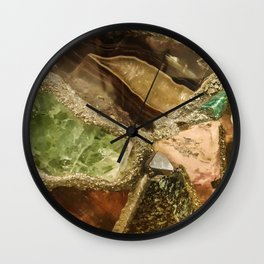 Gems collection 5 Wall Clock