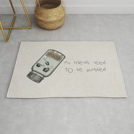 My Friends Need to Be Punished (inspired by Lilo and Stich) Rug