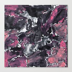 Pink Painting  Canvas Print
