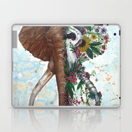 Elephant Face Off Laptop & iPad Skin