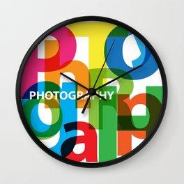 Creative Title : Photography Wall Clock