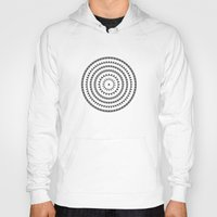 buddhism Hoodies featuring MANDALA IM ZÜRICH by THE USUAL DESIGNERS