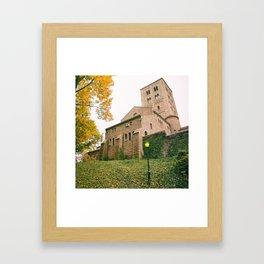Autumn - The Cloisters - New York City Framed Art Print
