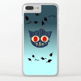 Mae - Nightmare eyes Clear iPhone Case