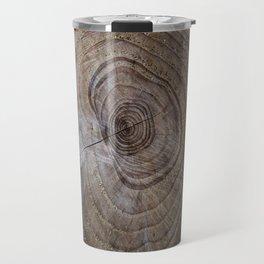 Tree Rings rustic decor Travel Mug