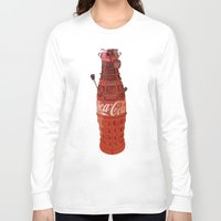 dalek Long Sleeve T-shirts featuring Dalek-Cola by colleencunha