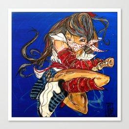 ninja 10 Canvas Print