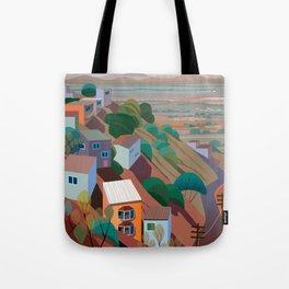 Nogales la Frontera Tote Bag
