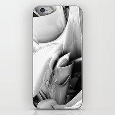 Twist Of Heart - White iPhone Skin