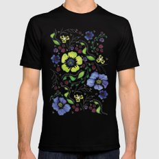 April Truly Mens Fitted Tee MEDIUM Black