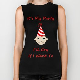 It's my party Biker Tank