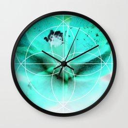 Negitive Nature Wall Clock