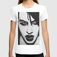 psycho T-shirts featuring Psycho by Zackery Benner