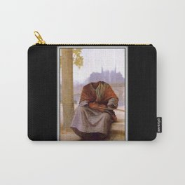 Bouguereau's Invisible Bohemian Carry-All Pouch