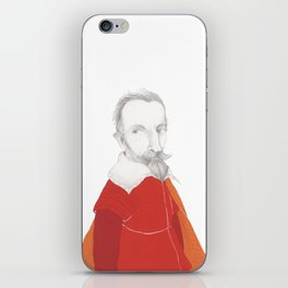 Claudio Monteverdi iPhone Skin