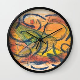 rhetoric Wall Clock