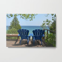 Two is Company Metal Print