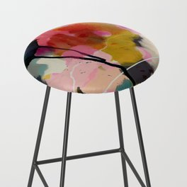 paysage abstract Bar Stool