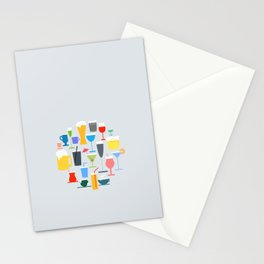Time to Drink Stationery Cards
