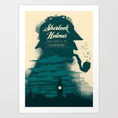 Elementary, my dear Watson. Art Print