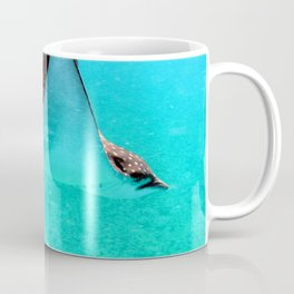 Watercolor Ray, Spotted Eagle Ray 05, St John, USVI Coffee Mug