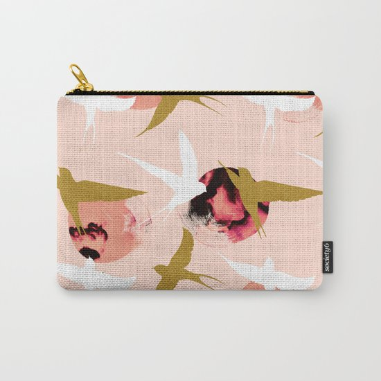 Bird flying with sunset Carry-All Pouch