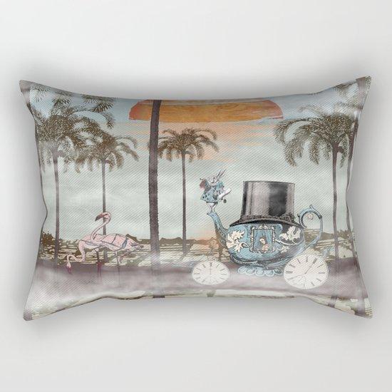 Alice Goes to California Rectangular Pillow