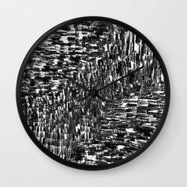 Seismic Shift  Wall Clock
