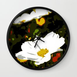 Meadow of daisies Wall Clock