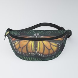 Butterfly Collection - Danaus Plexippus Fanny Pack